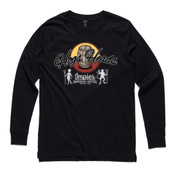 Hogs Heads  - Men's Base Long Sleeve Cuff T Shirt by 'As Colour '
